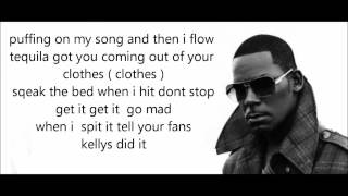 Chris Brown Ft R Kelly - Sweet Love Remix Lyrics