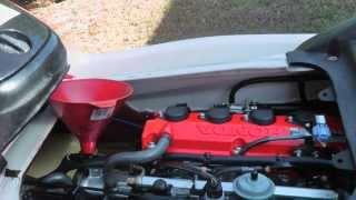 Як міняти масло на Honda AquaTrax