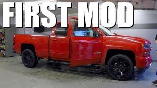 FIRST MOD On My 2017 Chevy Silverado Z71 Truck!!!