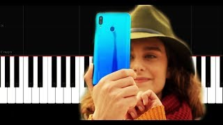 Huawei P Smart 2019 - Reklam Müziği - Piano Tutorial by VN