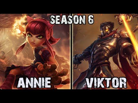 Best Annie Korea vs Viktor MID Ranked Challenger