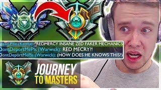 WAIT..I MIGHT ACTUALLY GET MASTERS! ft. IWDominate - Journey To Masters   League of Legends