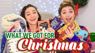 What We Got For CHRiSTMAS 2018 | Brooklyn And Bailey