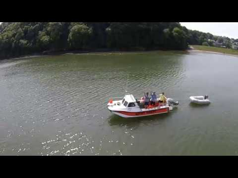 Laugharne by drone
