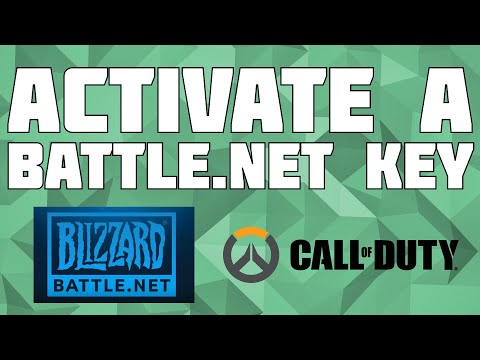 How To Activate A Key On Battle Net