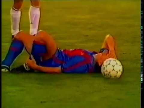 Season 1990/1991. Juventus - FC Barcelona - 1:0 (highlights)