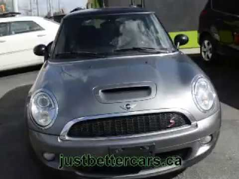 2007 MINI Cooper S 7TL90852 for SALE in Windsor, ON, N8W 3S2