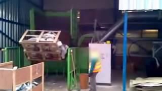 brykieciarka do papieru, tektury i odpadów