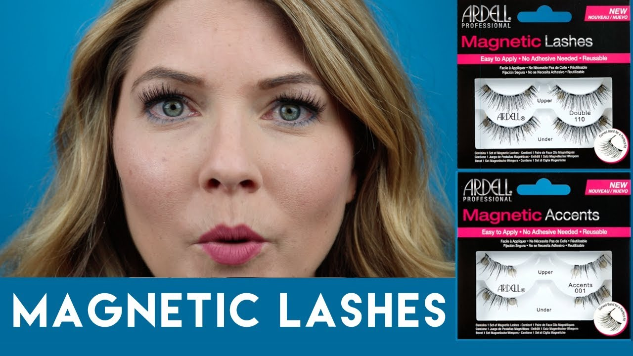 c27a3d1daa9 How To Use Magnetic Lashes : Featuring Ardell Lashes - YouTube