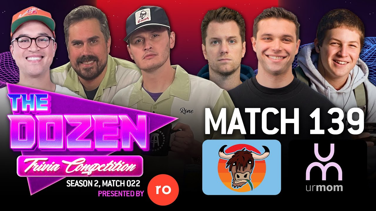 Download Undefeated Trivia Battle Between Big Cat, Rone, & KFC (The Dozen pres. by Roman, Match 139)