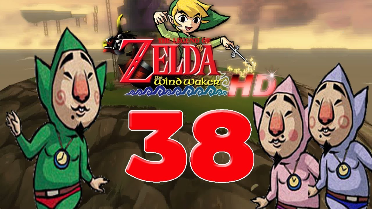 Lets Play The Legend Of Zelda The Wind Waker Hd Part 38 Tingle
