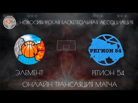 08.12.2018. НБА. Элемент - Регион 54.