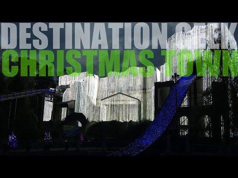 Christmas Town At Busch Gardens Williamsburg 2016!
