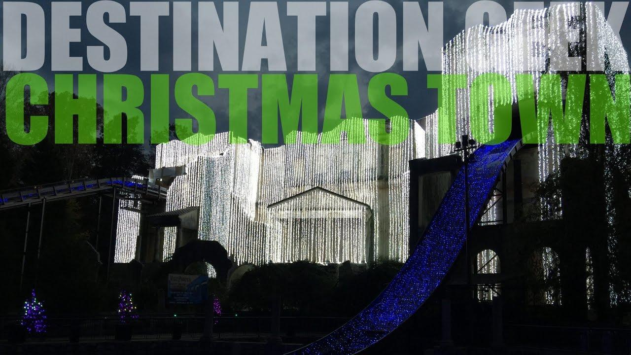 Christmas Town At Busch Gardens Williamsburg 2016 Youtube