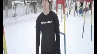 Видео урок подтягивания на одной руке