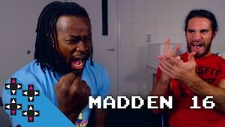 Seth Rollins a.k.a. Champ vs. Mr. 24/7 (Madden 16 Tournament) — Gamer Gauntlet