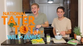 GAY COUPLE TOT OFF | National Tater Tot Day