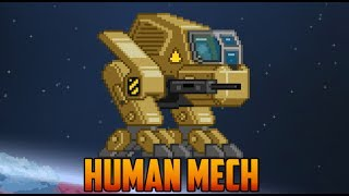 Starbound - Human Mech with coordinates [Beta]