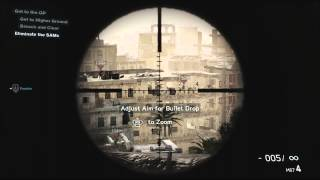 Medal of Honor Warfighter Sniper Gameplay Walkthrough Playstation 3 Xbox 360 HD