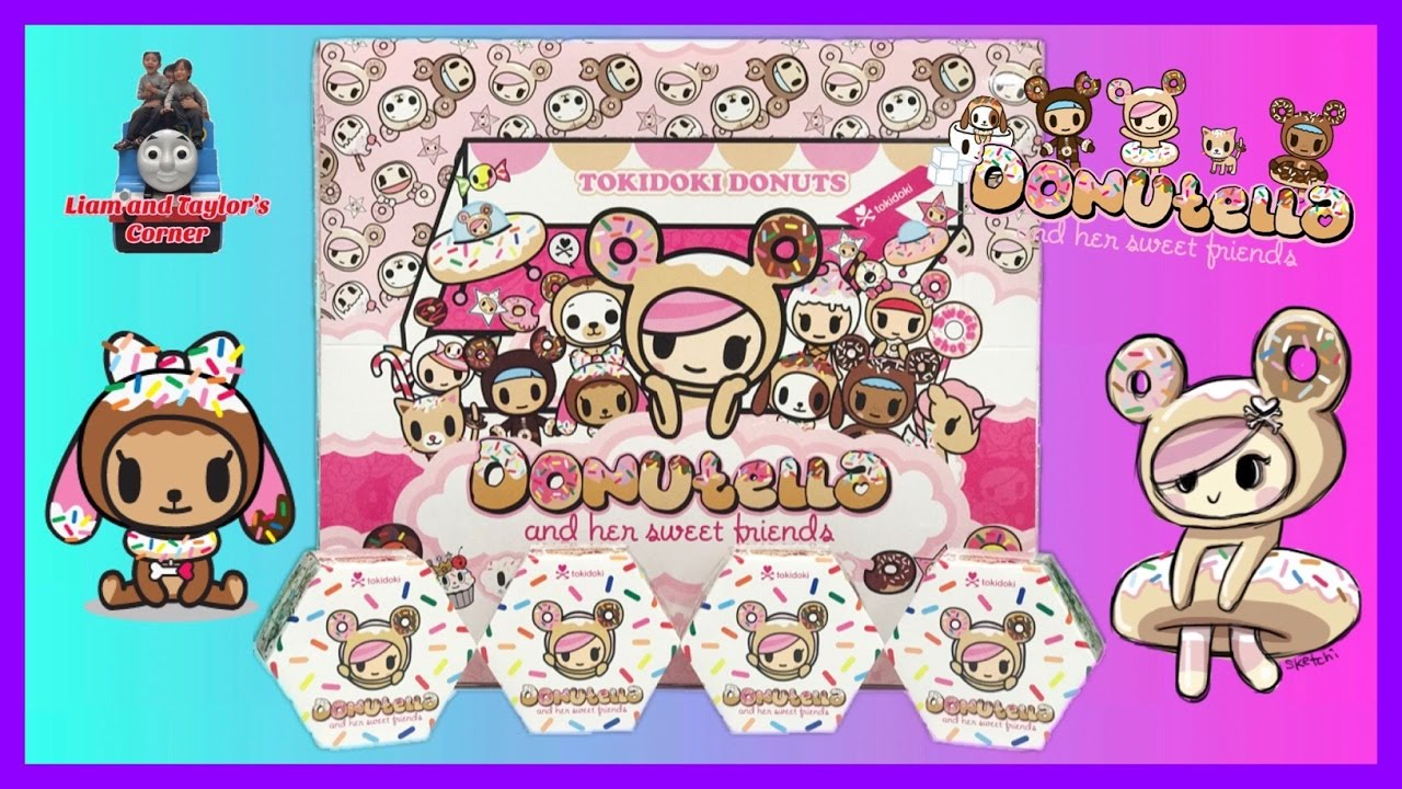 tokidoki donuts donutella and her sweet friends blind boxes