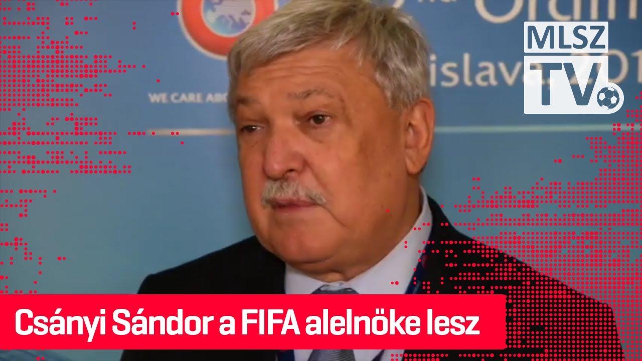 Csányi Sándor a FIFA alelnöke lesz