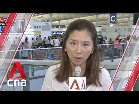 Operations back to normal at Hong Kong airport after violent protests