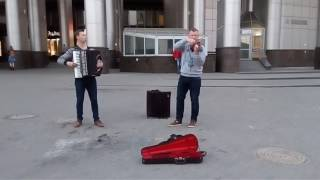 Ramin Djawadi - Main Titles ( cover street musicians Minsk)
