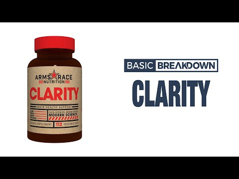Arms Race Nutrition Clarity Nootropic Supplement Review   Basic Breakdown