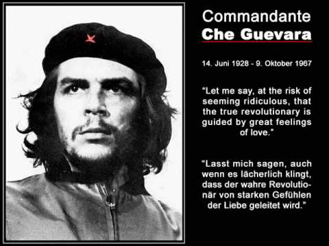 Che Guevara various speeches - English and German subtitles