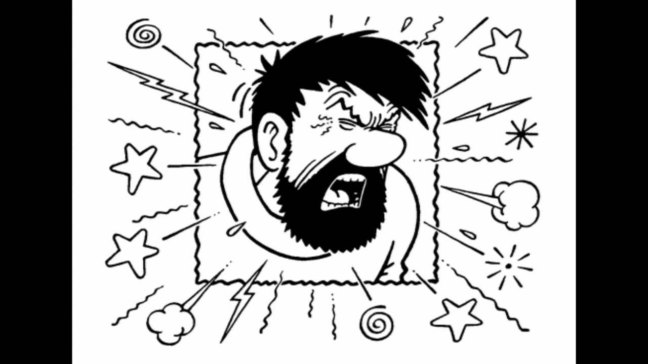 Condenser microphone test-Captain Haddock voice demo