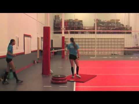 Training Correct Volleyball Arm-swing Mechanics