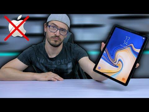 Why I Didn't buy an Apple - Samsung Tab S4