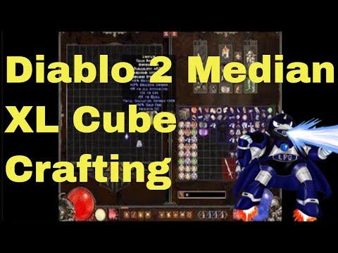 Diablo 2 Median XL Sigma Cube Crafting (Uniques, Jewels , Runewords,Shrines)
