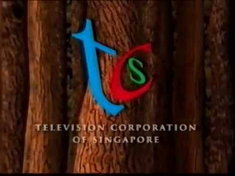 Television Corporation of Singapore - Woods ident 1997