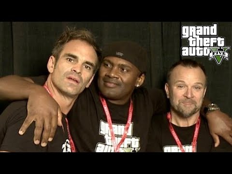 MEETING STEVEN OGG, NED LUKE AND SHAWN FONTENO  Expo Canada 2018