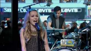 Bridgit Mendler | Ready Or Not (Live @ Good Morning America 11/14/12)