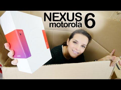 Google Nexus 6 motorola unboxing en español