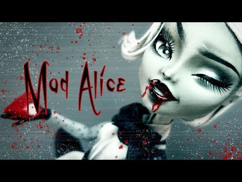 Doll Repaint MAD ALICE