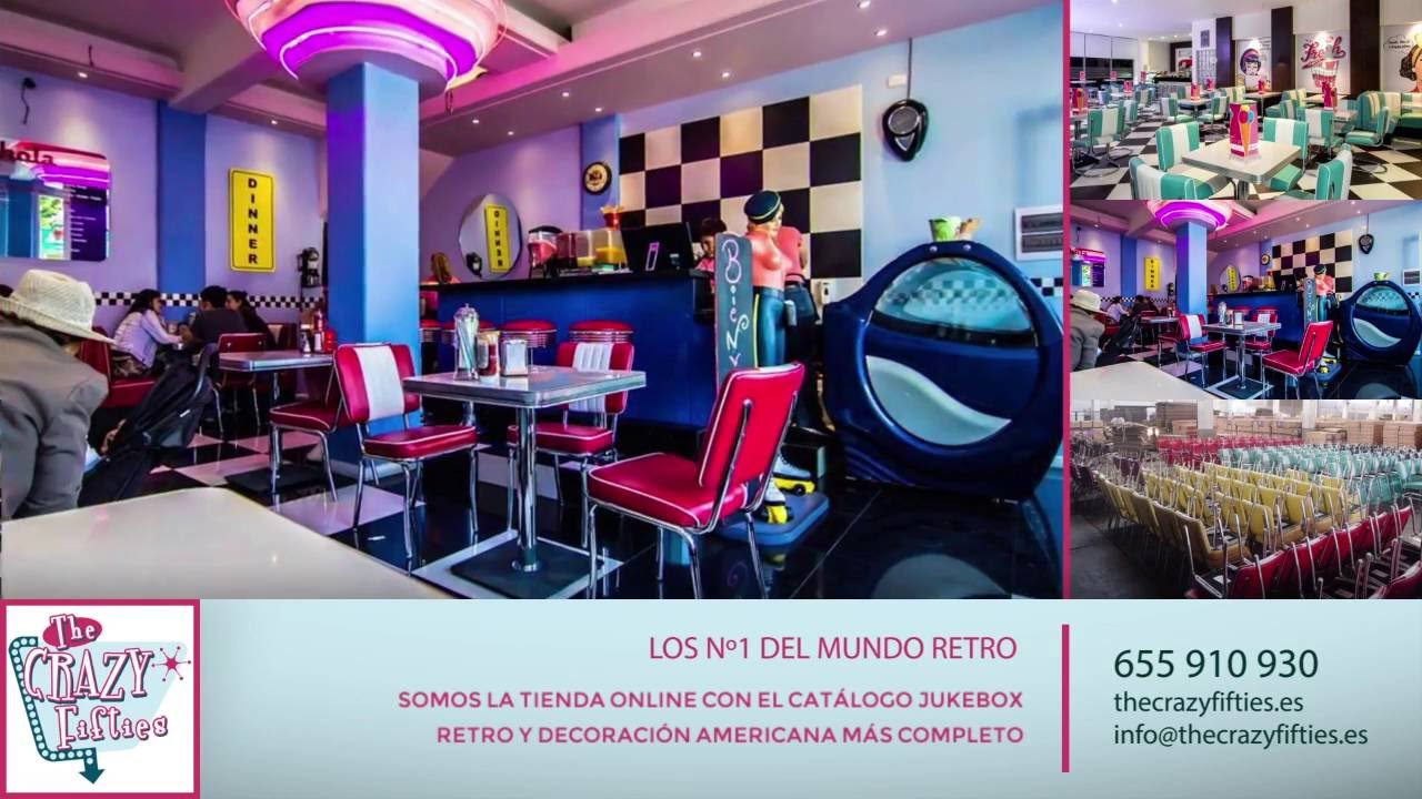 Muebles Retro Online The Crazy Fifties Expertos En Mobiliario Retro Diner Americano Y Jukebox
