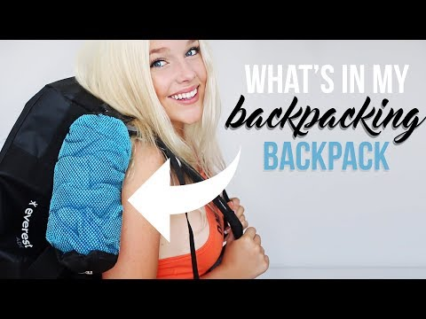 What's in my Bag I Backpacking Europe 2 months ✈️