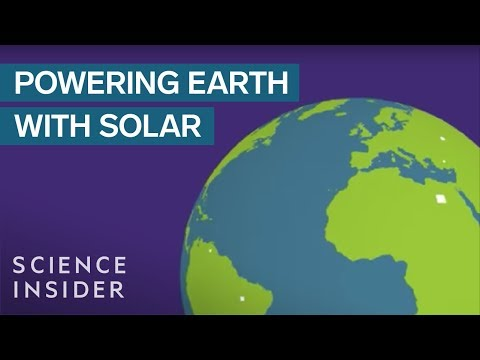 How Many Solar Panels Would It Take To Power The World?