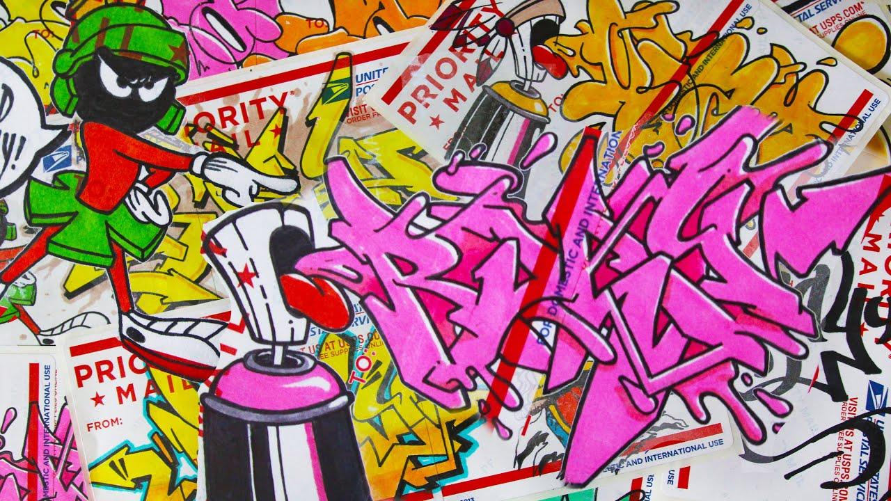 Rjay Graffiti Sticker Trade