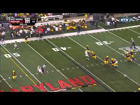 Clint Trickett - West Virginia Football - QB - 2014 Maryland Game