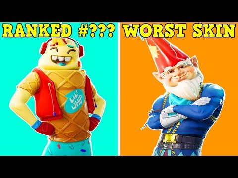 RANKING EVERY 'SEASON 7 SKIN' FROM WORST TO BEST! (Fortnite Battle Royale!)