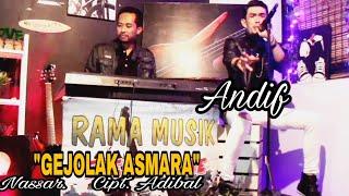 """Download RAMA MUSIK BONE Cover """"GEJOLAK ASMARA - NASSAR"""" Cipt. Adibal, Voc. ANDIF"""