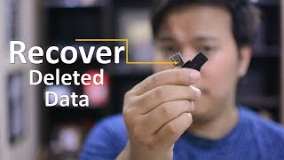 How to recover data from USB flash drive with Recoverit Free ?