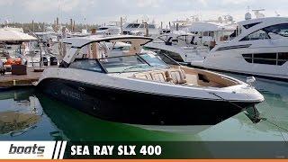 Sea Ray SLX 400: First Look Video Sponsored by United Marine Underwriters