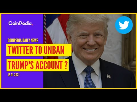Twitter To Unban Trump's Account? |Bitcoin Is Like Amazon | Altcoins |Cryptocurrency News |Coinpedia
