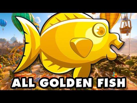 Plants Vs. Zombies: Battle For Neighborville - All Golden Fish!