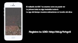 anlisis ios 7 beta 1 para iphone en espaol
